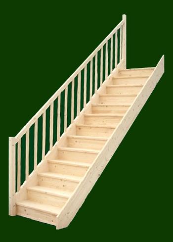 smrkove schody rovne