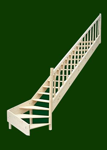 smrkove schody s dolnim lomenim