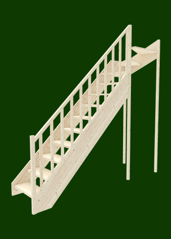 smrkove schody s hornim lomenim